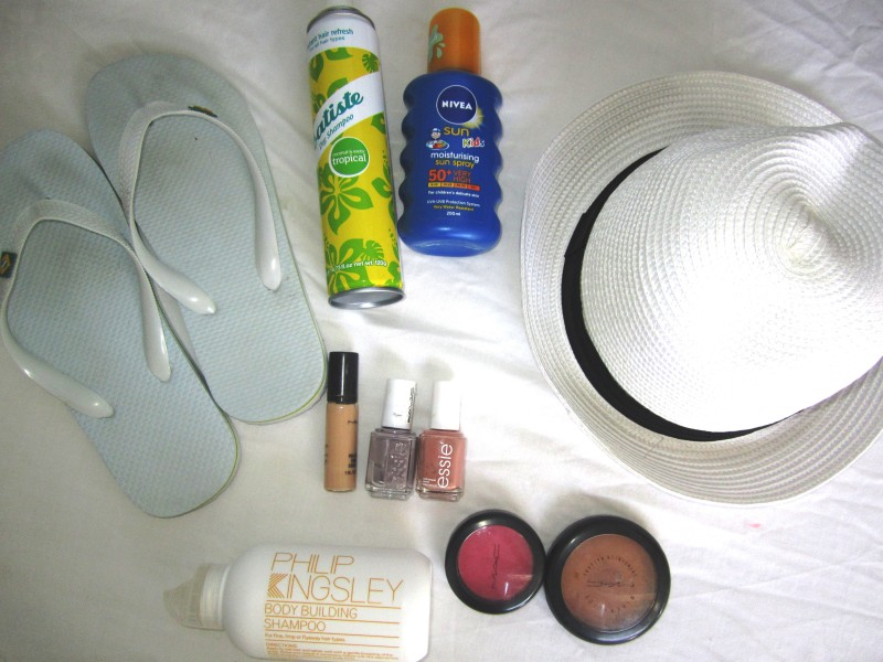 Some of my travel beauty essentials