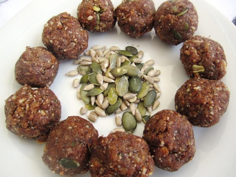 Date and nut truffles recipe