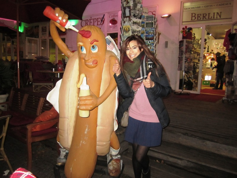 Lots of Christmas markets, hot chocolate and roasted chestnuts, guess where I have been