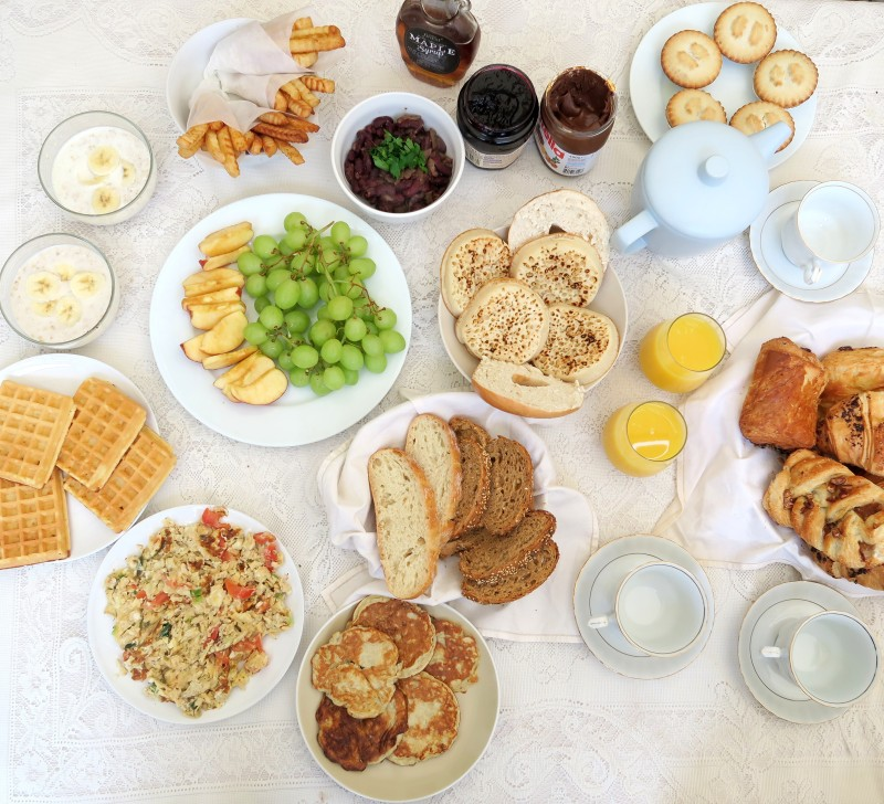 New Years Family Brunch made by moi