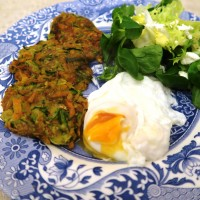 vegetable fritters..