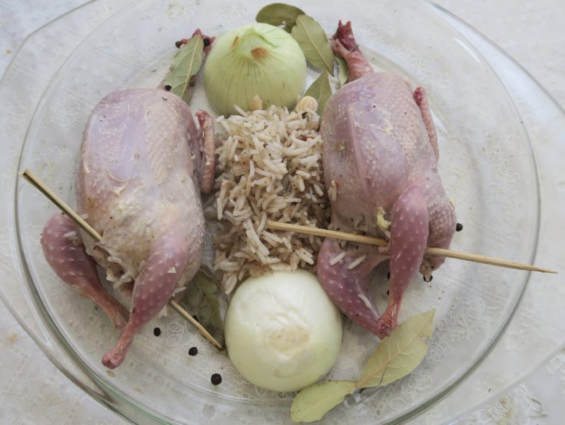 Hamam mahshi recipe, Egyptian stuffed pigeon