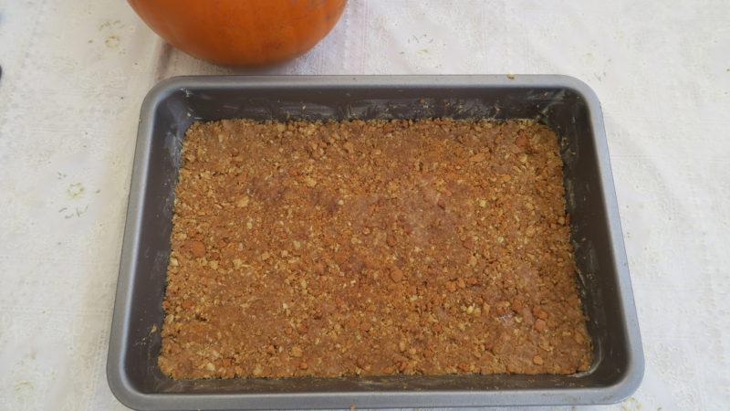 pumpkin cheesecake using oats