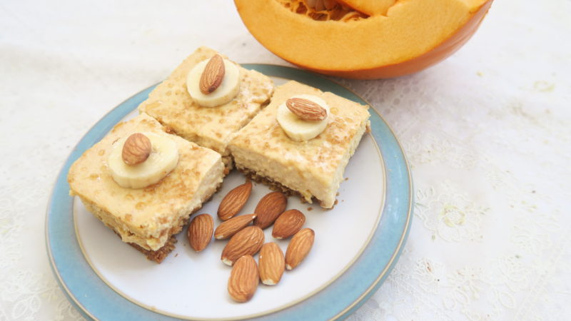 Pumpkin cheesecake-Happy Halloween