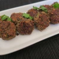 Vegan meatballs fo..
