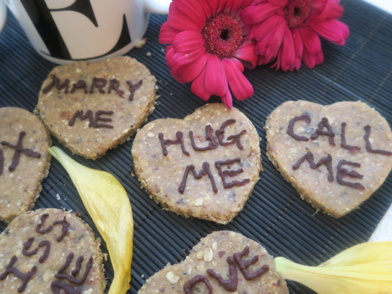 Vegans Valentines Day dessert recipe idea