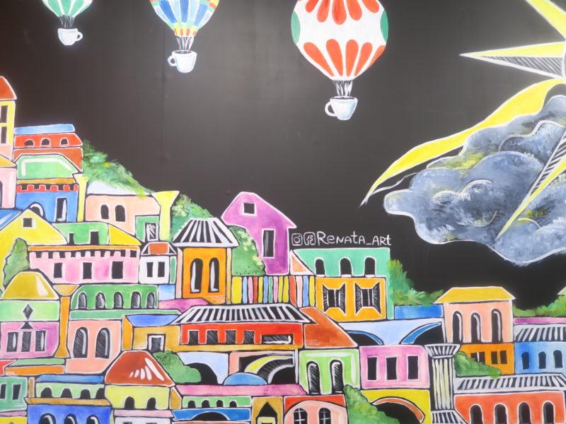 La Masseria art work by Renata