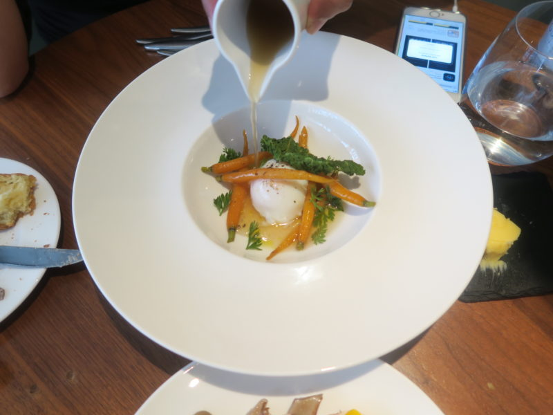 poached eggs and carrots for brunch-MyCItyMyLOndon