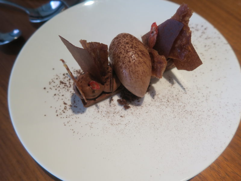 dark chocolate dessert  in london-MyCityMyLondon
