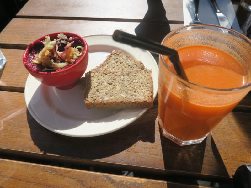 Brunch at Le Pain Quotidien