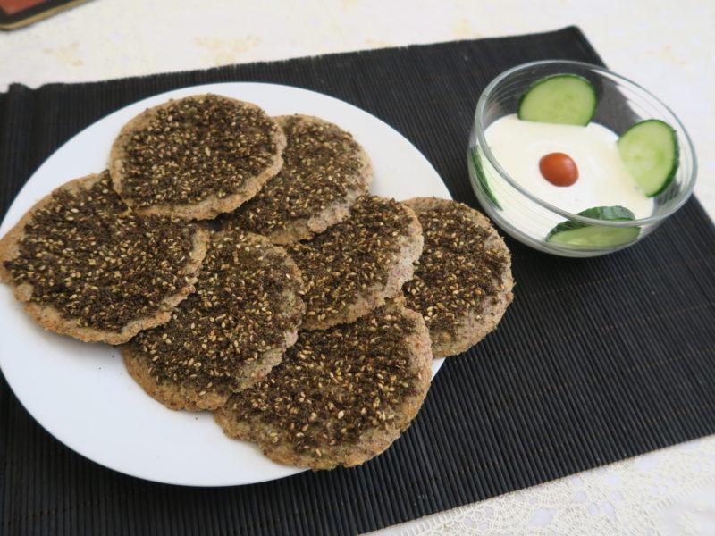 Gluten-free manakeesh