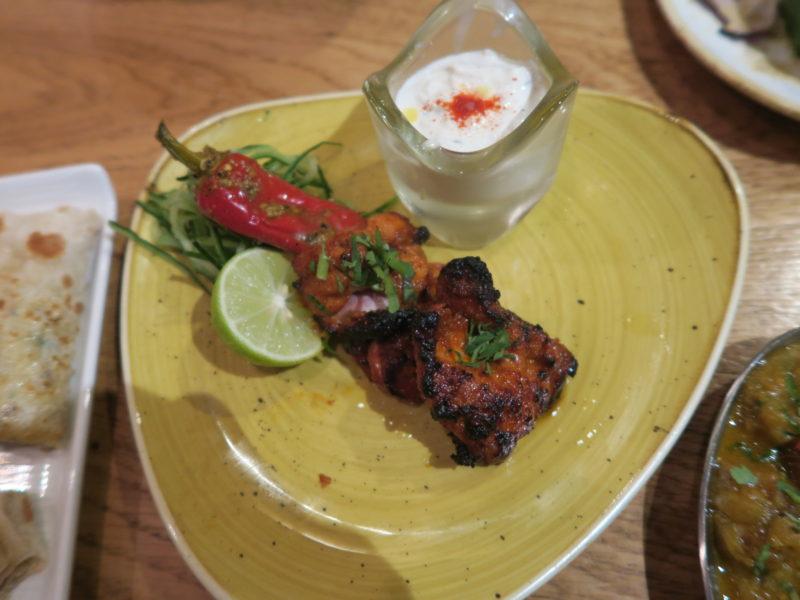 Tandoori chicken Hankies for the best indian restaurant in london