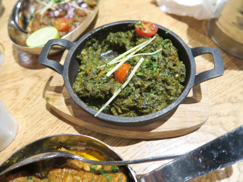 saag for the best indian restaurant in london