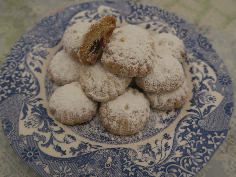 Eid cookies, kahk with dates