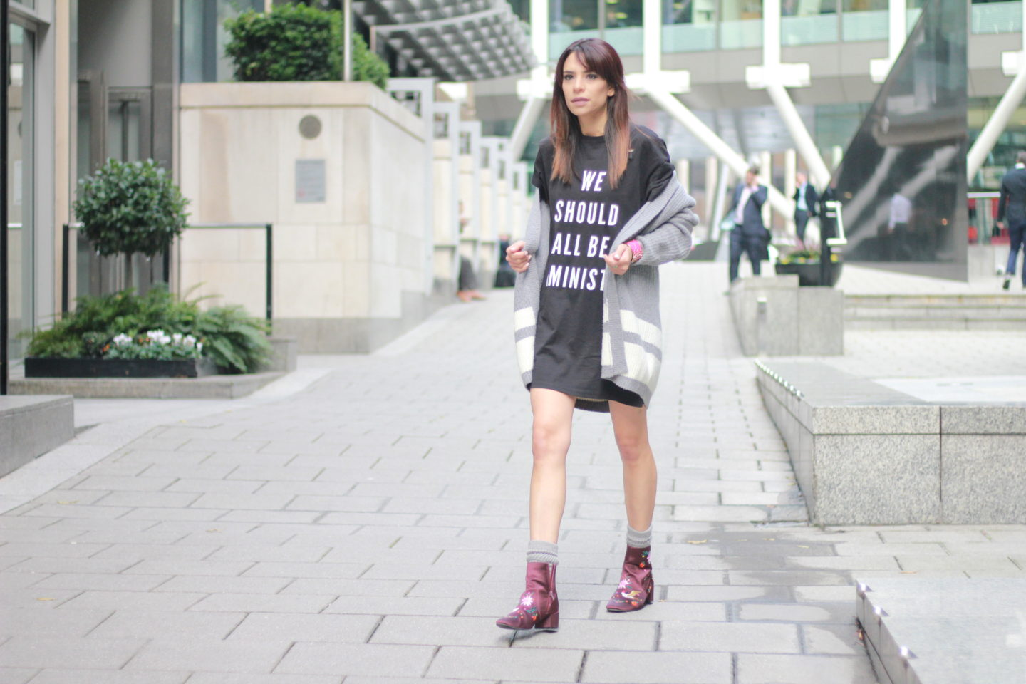 T-shirt dress-Sarah'sLifestyleDiary