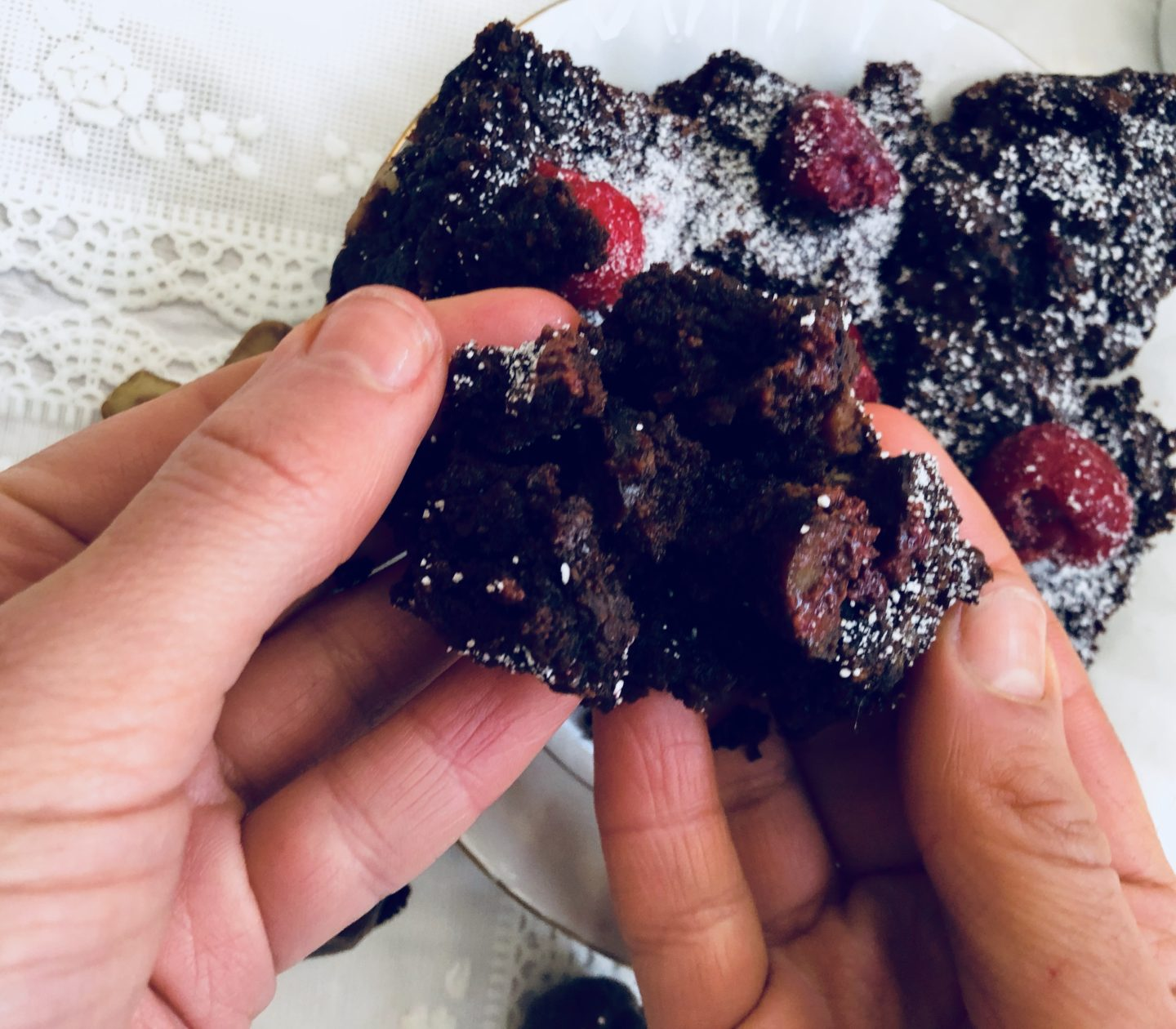vegan flourless brownies-SarahsLifestyleDiary