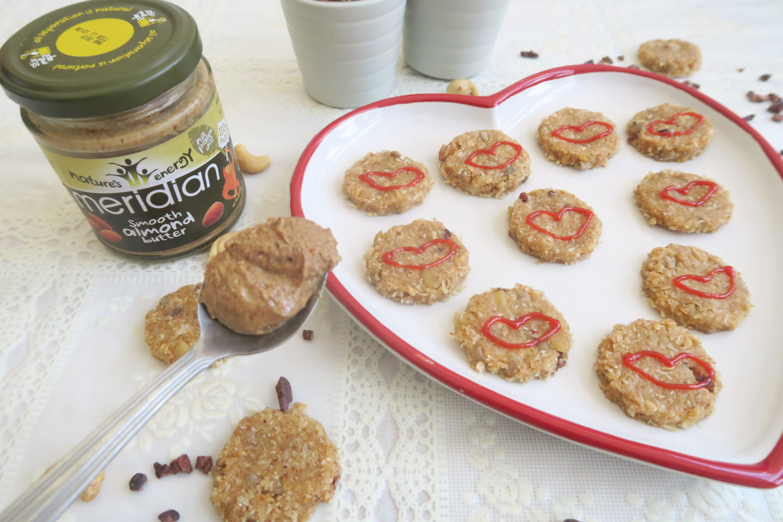 Valentines Day Raw Vegan Cookies