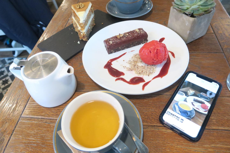 Lunch at Aubaine, High Street Kensington