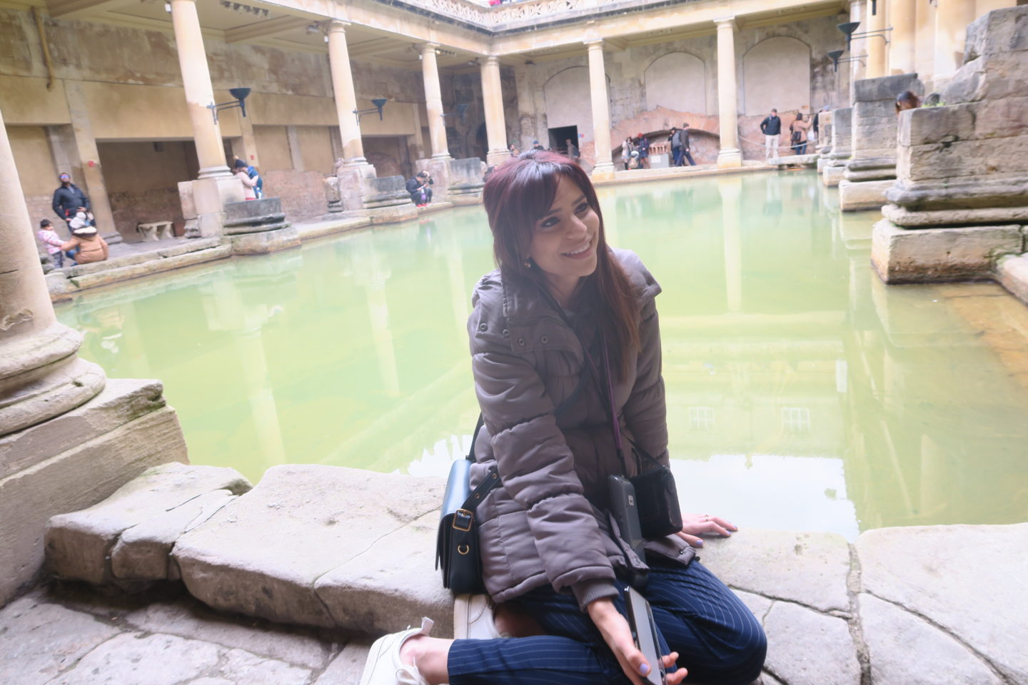 A visit to The Roman Baths for a weekend away