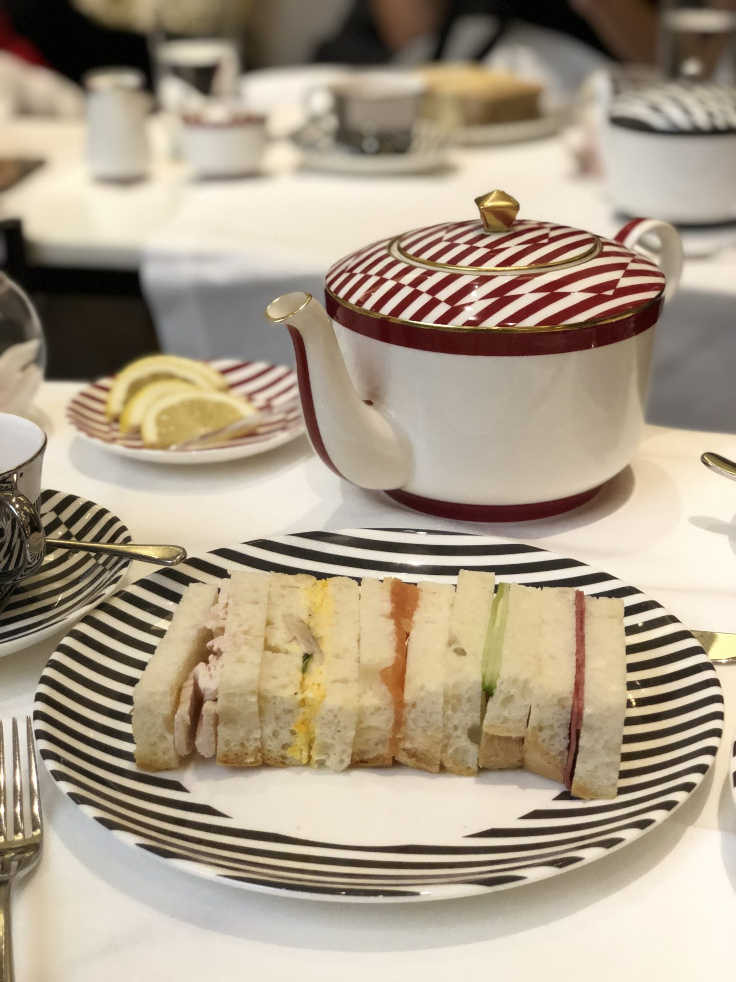 Corinthia luxury afternoon tea